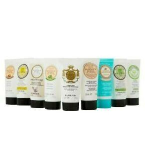 Perlier 9-Piece Mini Hand Cream Set 1 oz.-NEW Sealed Box
