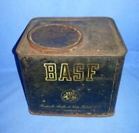 Vintage Old Collectible Badische Anilin & Soda-Fabrik Adv. Litho Tin Box Germany