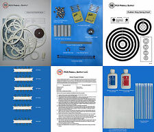 1971 Gottlieb Drop-A-Card Pinball Deluxe Tune-up Kit - Includes Rubber Ring Kit