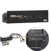 PC Desktop Internal Card Reader USB 3.0 M2 SD MS XD Card Dashboard Front Panel