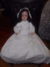 Antique DPC anglais Bisque Head Doll RARE