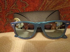 Ray-Ban Original Wayfarer Sunglasses -RB2140- 6113/30 - Metallic Azure