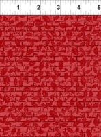 Winter Twist~BY 1/2 YD~IN THE BEGINNING FABRICS~5WT1~CHRISTMAS Red tonal grid