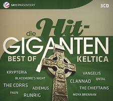 DIE HIT GIGANTEN BEST OF KELTICA - CHRIS DE BURGH/NIGHTWISH/+ 3 CD NEW+