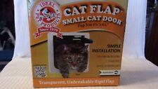Ideal Lockable Cat Flap Small Dog Pet Interior Exterior Door Weather Proof 8 X 2