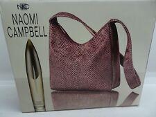 Naomi Campbell Gift Set Eau de Toilette 1.7 oz + Python Print Bag