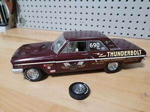 1964 Ford Thunderbolt Dick Brannan The Classic Garage 1/18 Replica  LOOSE WHEEL