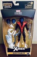 Marvel Legends Series Nightcrawler Action Figure Build A Figure Wendigo w/ Sword