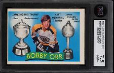 1971-72 OPC O PEE CHEE #245 BOBBY ORR MVP HART TROPHY BRUINS KSA 7.5 N-MINT +