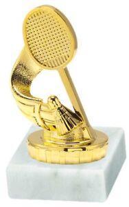 Badminton-Pokal mit Ihrer Wunschgravur (P028)