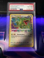 Pokemon SWSH Vivid Voltage Amazing Rare Rayquaza 138/185 PSA 8 NM- MT