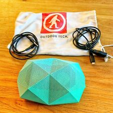 Outdoor Technology Turtle Shell 2.0 Bluetooth Speaker Mint Colour VG+ Condition