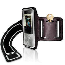 Black Running Jogging Sports Armband for Sony Walkman NW-A25 A27 Fitness Gym