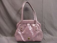 Auth ANNA SUI Purple Patent Leather (Synthetic Leather) Handbag