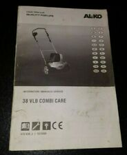 AL-KO 38 VLB Combi Care User Manual