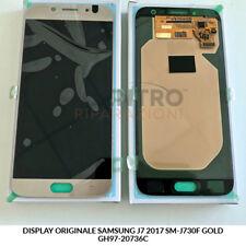 DISPLAY LCD TOUCH SCREEN ORIGINALE SAMSUNG GALAXY J7 2017 SM-J730F GOLD ORO