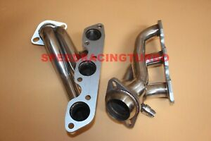 Stainless Steel Exhaust Shorty Headers Fits Ford Mustang 01-04 3.8L V6 Manifold