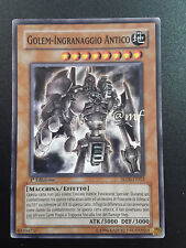 GOLEM-INGRANAGGIO ANTICO - SD10-IT012 ITA - YUGIOH -YUGI - YGO [MF]