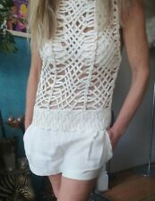 "Sass & Bide ""Watching Him"" Embellished Jump/Play Suit sz 38 (8)"