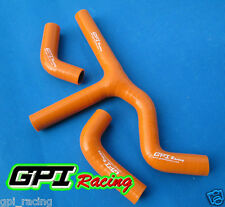 Silicone Radiator Coolant Hose  KTM 450SX 525SX 2003 2004 2005 2006 orange