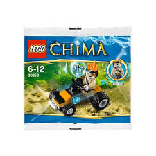 New LEGO Legends of CHIMA Leonidas' Jungle Dragster polybag 30253