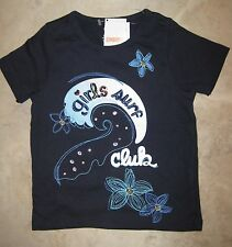 NWT Gymboree Tropical Bloom Girls Surf Club Jewel Bling Wave Tee Top 4 NEW
