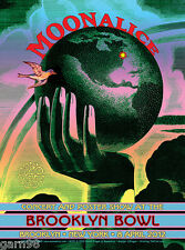 Moonalice Brooklyn Concert Poster Nyc 2012 David Singer Fillmore Artist