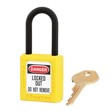 Master Lock 406 sécurité cadenas jaune (ML-406-YLW)