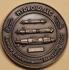 REMUS Automatic Underwater Vehicles ser# 143 Navy Challenge Coin