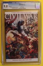 CIVIL WAR #7 Michael TURNER 1:15 VARIANT Epic Battle Conclusion CGC NM/MT 9.8
