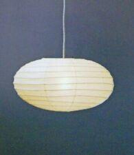 "Akari Isamu Noguchi 50en ""shade Only""pendant Lamp Washi Japanese Light Handcraft"