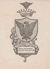 § EX-LIBRIS 3e Visconde de AZEVEDO - Portugal §