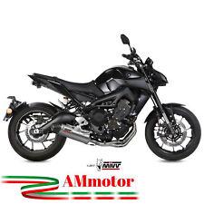 Scarico Completo Mivv Yamaha Mt-09 2015 15 Oval Titanio Carbon Cap Per Moto