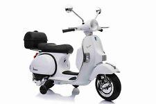 MOTO ELETTRICA PER BAMBINI VESPA PIAGGIO PX 150 12v CON BAULE+ROTELLE FULL