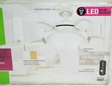 """Hunter LED 54"""" Contempo II Ceiling Fan with Remote Control 59477 - NOB"""