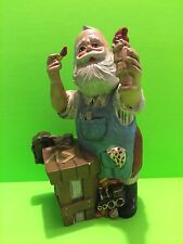 Santa Claus Painting Toys Christmas Figurine Collectible Gift