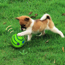 More details for wobble wag touch rolling play shaken interactive sound giggle ball pet dog toys
