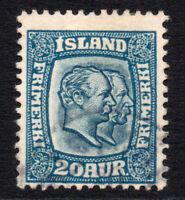 Iceland 20 Aur c1907 Stamp Used (3284)