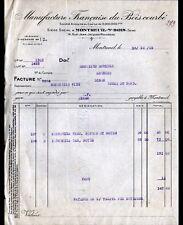 """MONTREUIL-sous-BOIS (93) USINE de MEUBLES """"MANUFACTURE de BOIS COURBE"""" en 1925"""