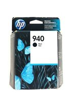 Genuine HP 940 Black Ink Cartridge Retail Box OEM C4902AN  NEW Sealed Ships Fast