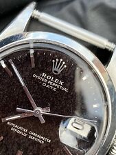 Rolex 1500 Date Gilt Dial Tropical Vintage Rolex 34mm Watch