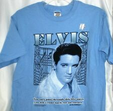 ELVIS PRESLEY  QUOTE T SHIRT NEW YOU DON'T COME BACK FOR AN ENCORE MEDIUM NWT