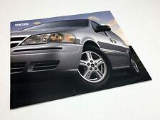 2004 Chevrolet Venture Minivan Brochure