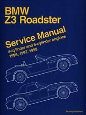 Bmw Z3 Roadster: Service Manual : 4-Cylinder and 6-Cylinder Engines 1996, 1997,