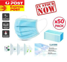 AU 50pcs Medical Face mask Surgical Grade FaceMask Disposable Masks Sale