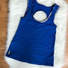 Lole Womens XS Blue Polyester Athletic Top