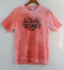 Evil Dead Musical Blood Splatter Zone Young Artists Forever T-Shirt Size S