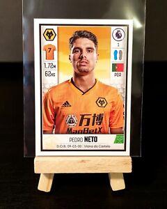 2019/20 Panini Premier League - Pedro Neto ROOKIE Sticker - Wolves #627