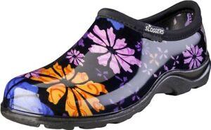 Sloggers 5116FP09 Size 9 Womens Flower Power Waterproof Shoe