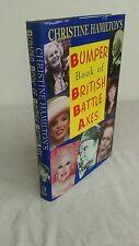CHRISTINE HAMILTON - BOOK OF BATTLE AXES - UK HB DJ - SIGNED - VG++ COND UNREAD